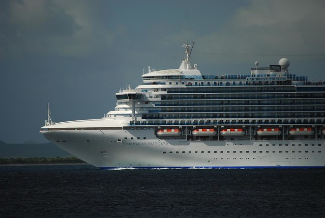 Caribbean Princess Cruise Ship Leaving Bonaire  Flickr  Photo Sharing