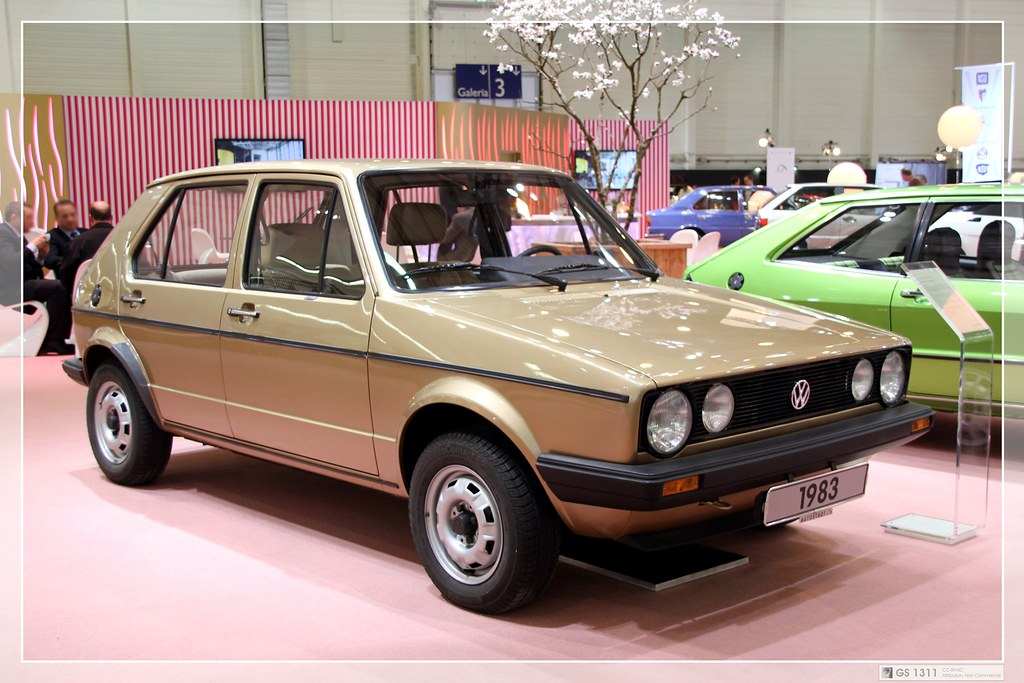 1983 Volkswagen Golf I LX (01) | In May 1974, Volkswagen pre… | Flickr