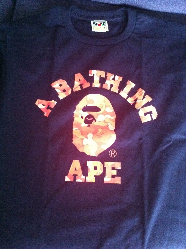 Image Result For A Bape T Shirt