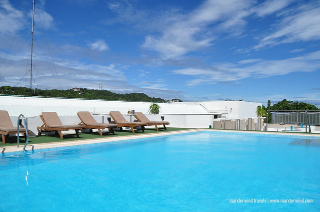 Roof deck Pool at The Tides Boracay