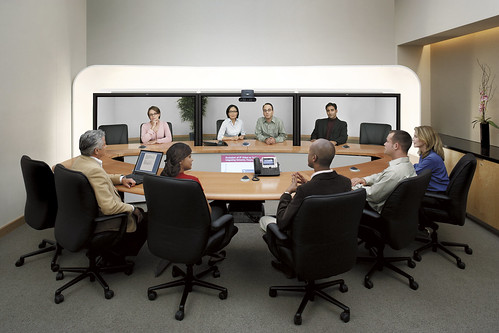 Cisco TelePresence System 3000 | by Cisco Pics