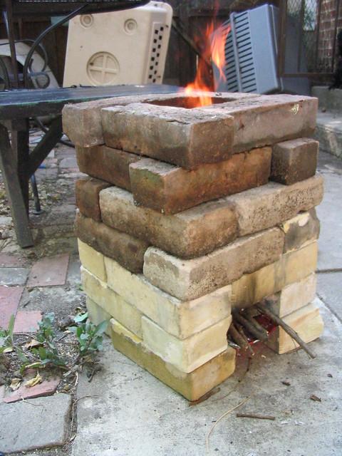 Cinder Block Kitchen Latin America