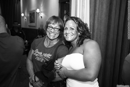 Helen Bouchard and Tara Silzer   More female muscle at