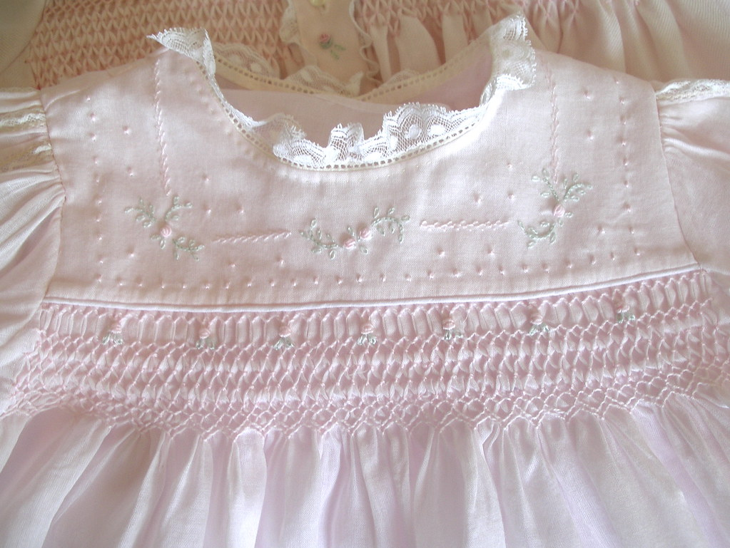 Emma's Smocked Baby Dresses | Fancy View is made from Pink ...