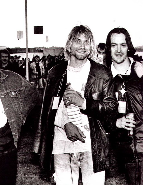 Kurt cobain and eugene kelly at the reading festival 1991 flickr kurt cobain and eugene kelly at the reading festival 1991 by manwithouties gumiabroncs Images