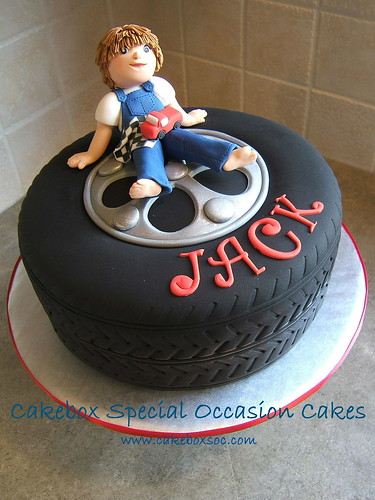 Tire Cake Ideas