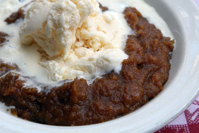 Indian pudding at Durgin Park, Boston | Flickr - Photo Sharing!