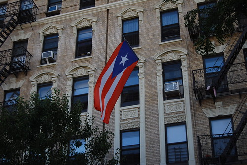 Puerto Rico Flag, East 119th Street | by xtopher1974