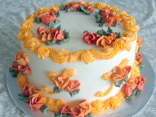 Fall Buttercream Cake Images