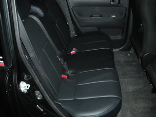 Leather seats installed (rear) | by Spr0k3t