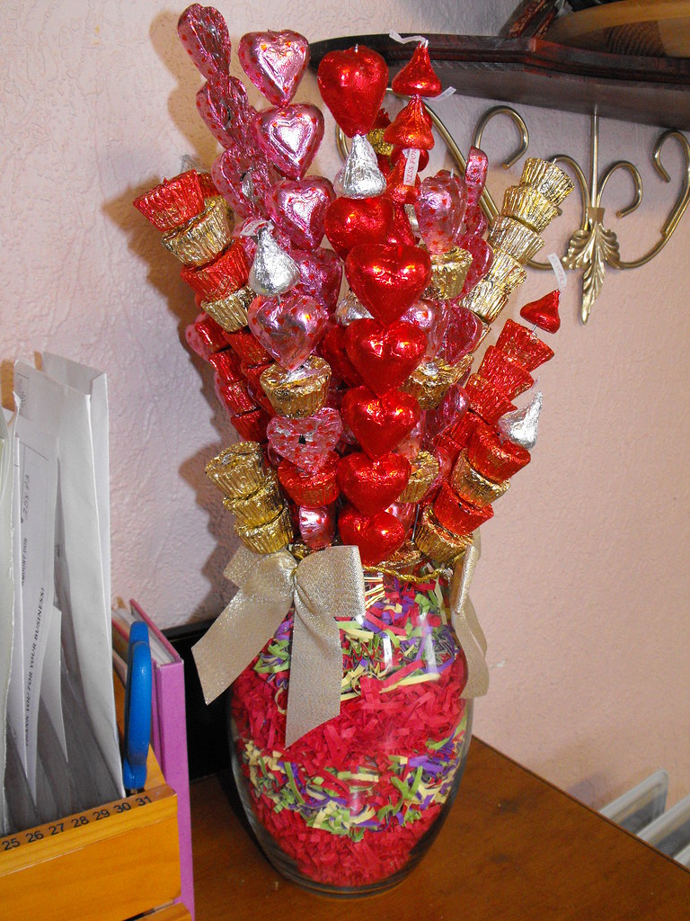 Candy Bouquet A Candy Bouquet I Made Near Valentine S Day Flickr