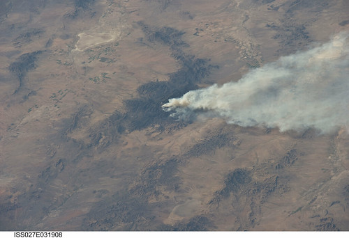 Horseshoe 2 Wildfire, Arizona (NASA, International Space Station, 05/08/11) | by NASA's Marshall Space Flight Center