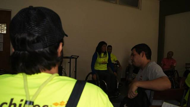 Conversando sobre Discapacidad y Deporte en la UCV