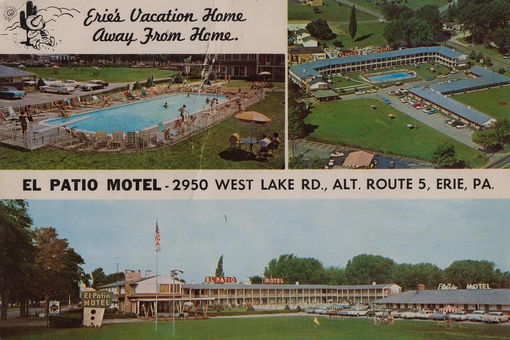 El Patio Erie Pa By El Patio Motel Erie Pennsylvania Three Miles West Of ...