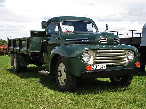 1949 Ford F6 Truck Tauranga Vintage Machinery Club 25th
