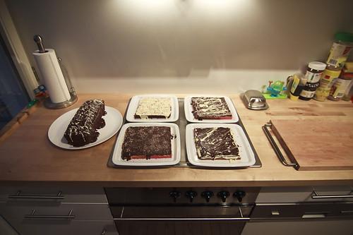 sarahs geburtstagskuchen 2009 einmal ein geburtstagskuchen flickr. Black Bedroom Furniture Sets. Home Design Ideas