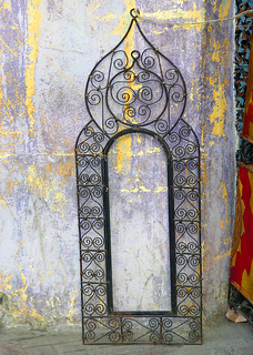 Mirror frame, Tangier, Morocco | by fam_nordstrom