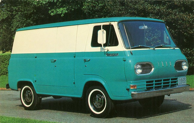 1965 Ford Econoline Van | Alden Jewell | Flickr