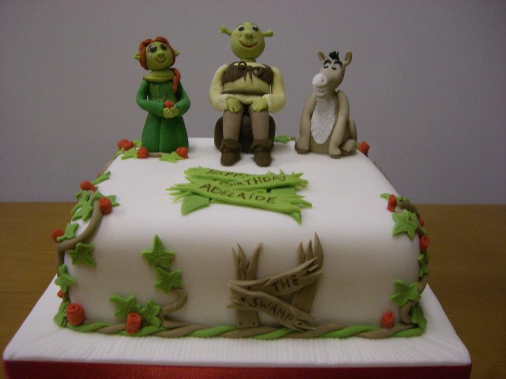 Shrek Wedding Cake