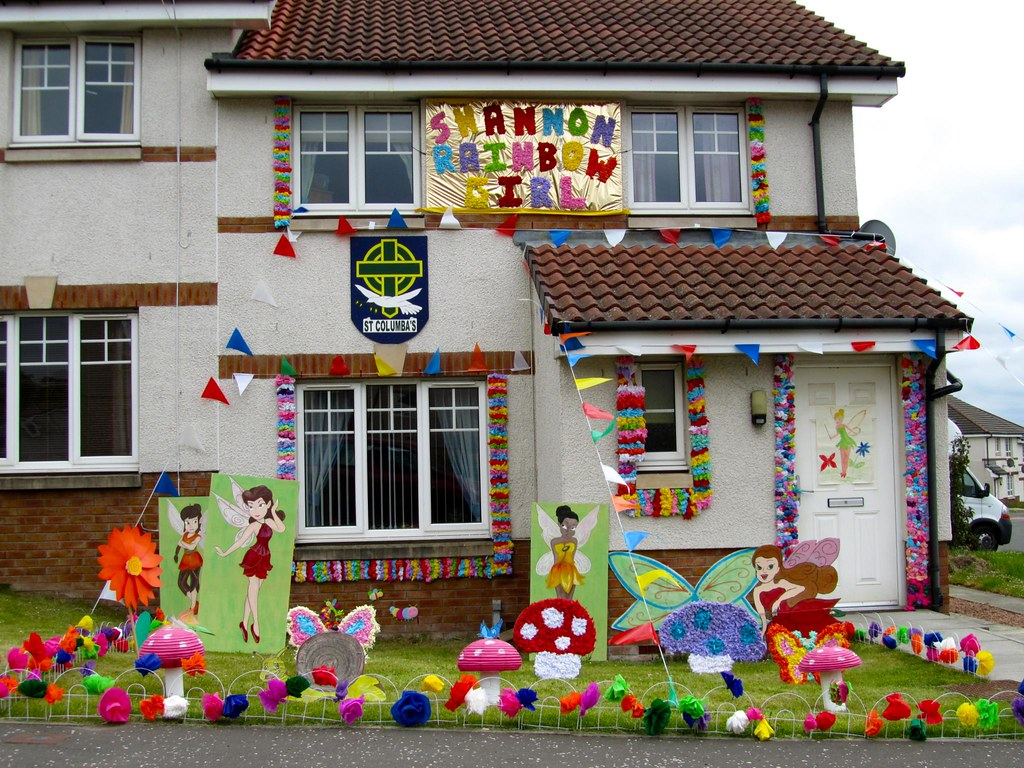 Decorated House 2011 John Newland Day And Bathgate