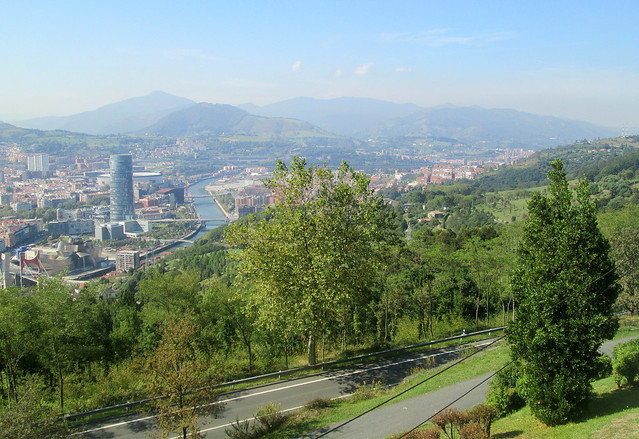 Towards North Bilbao
