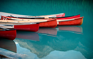the red canoes | by raspberrytart