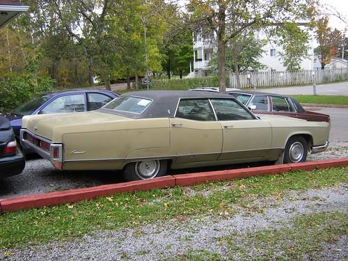 1971 Lincoln Continental Sedan 1971 Lincoln Continental