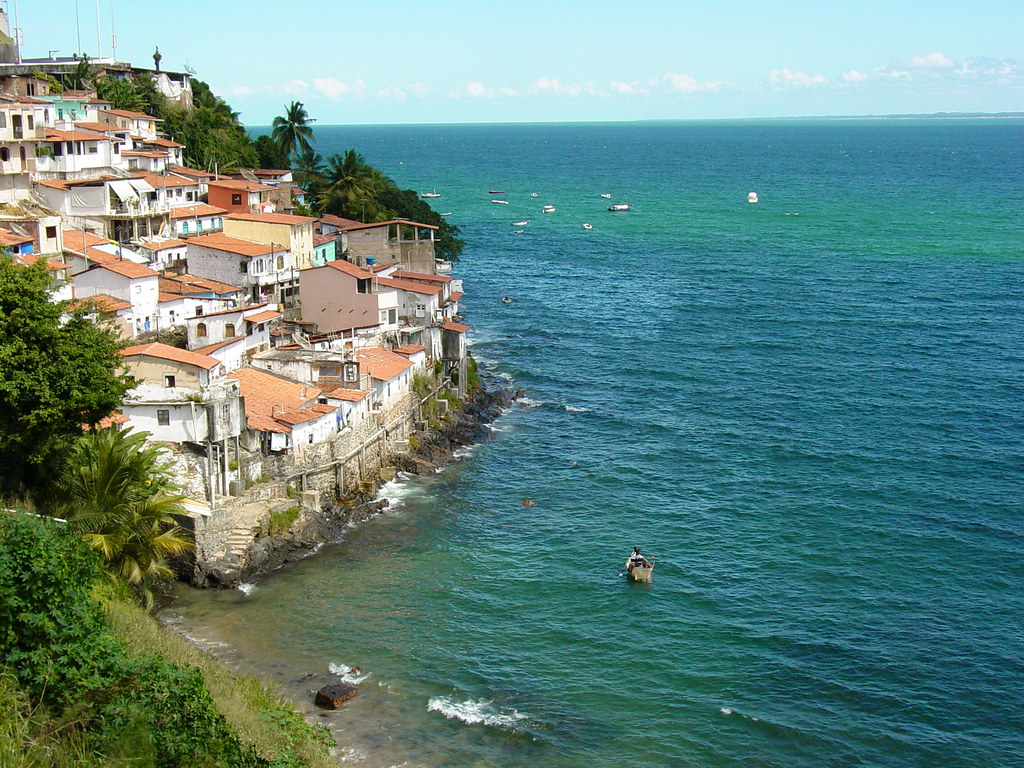 Fishing Village Along Coast Near Salvador Brazil Flickr