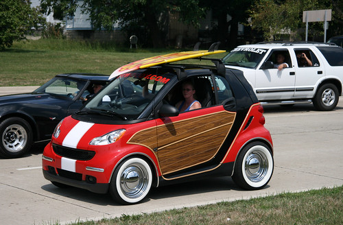 Custom Smart Car Surfin Usa Smart Car At The Woodward