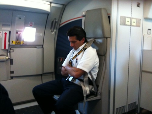 Al Pacino Flight Attendant Our Us Airways Flight