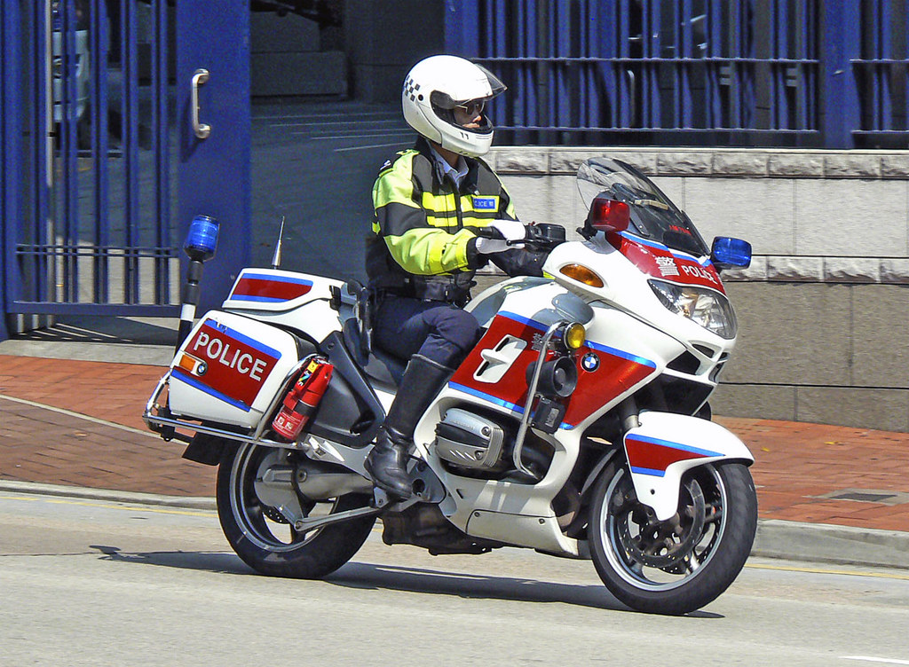Hong Kong Traffic Police Bike | 香港交通警察電單車 TNTS = Traffic Dis… | Flickr