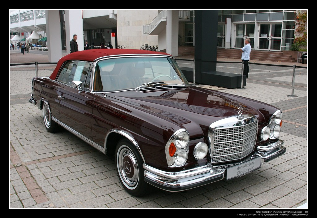 1961 Mercedes Benz W111 280 Se 3 5 Cabrio The Mercedes