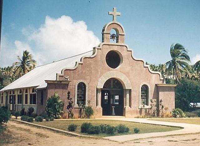 Spanish mission style architecture 1950 santa teresita for Maison style architecte