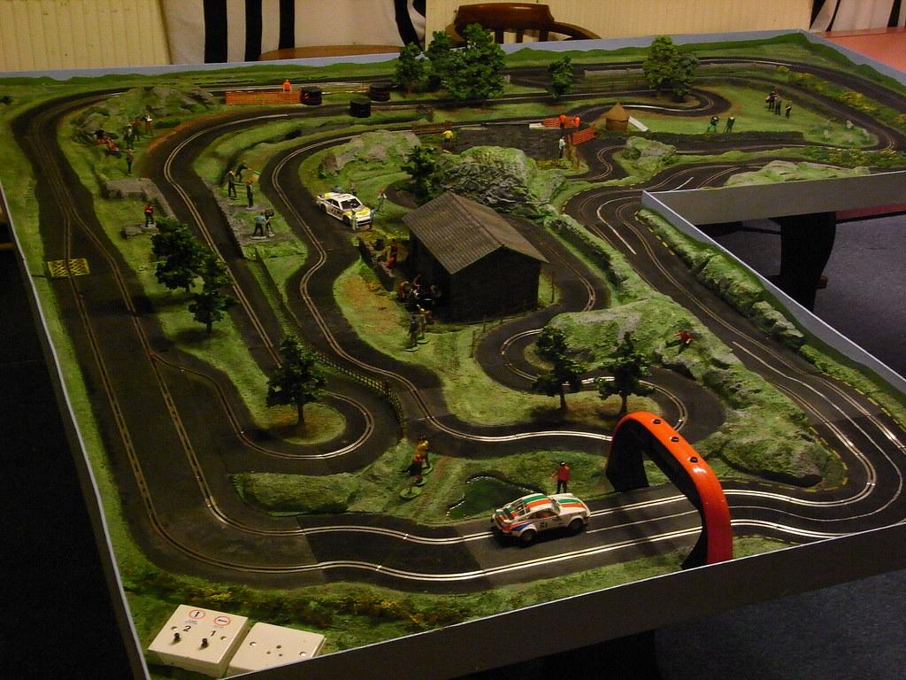 Race Car Track Designs Custom Slot Car Track Layout