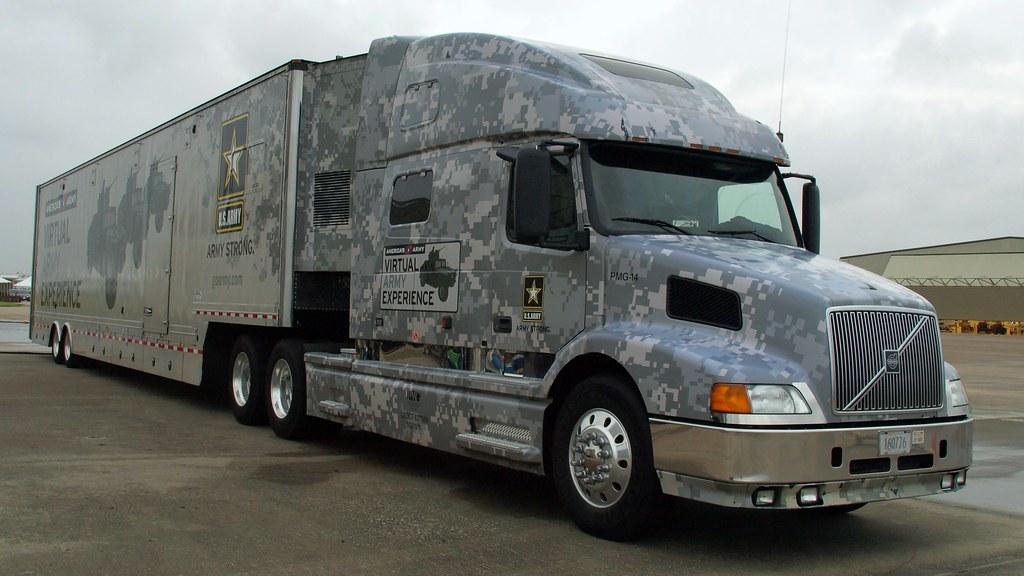 U.S. ARMY recruiting Volvo Trucks N.A. VN770 | MDLPhotoz | Flickr
