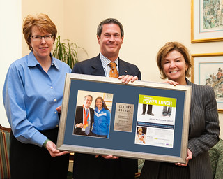 Sen. David Vitter with Susan Molinari | by century council