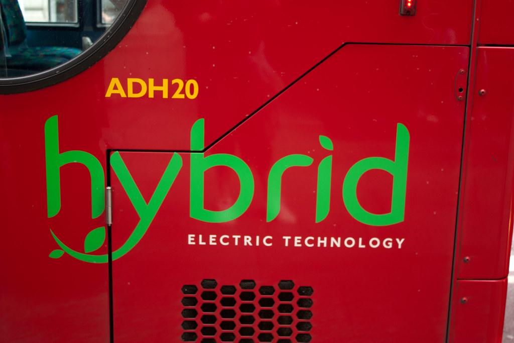 Hybrid Technology Logo Technology Logo on London