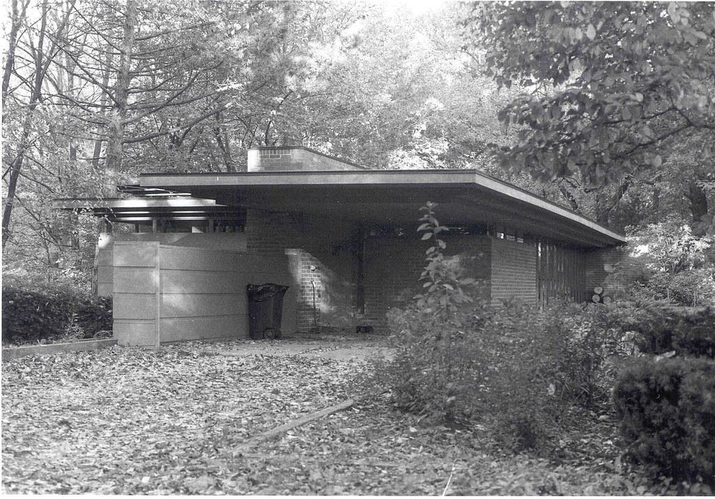 goetsch winckler house 1940 frank lloyd wright construct flickr. Black Bedroom Furniture Sets. Home Design Ideas