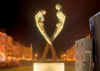 TAY - The Brighton AIDS Memorial floodlit at night | by Dominic's pics