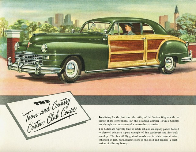 1947 chrysler town and country custom club coupe alden. Cars Review. Best American Auto & Cars Review