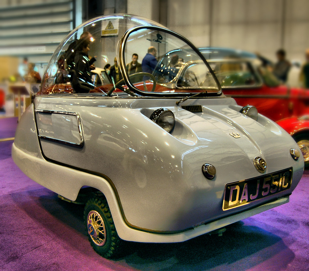 Peel Trident Space Age Bubblecar From 1965 Micro Car