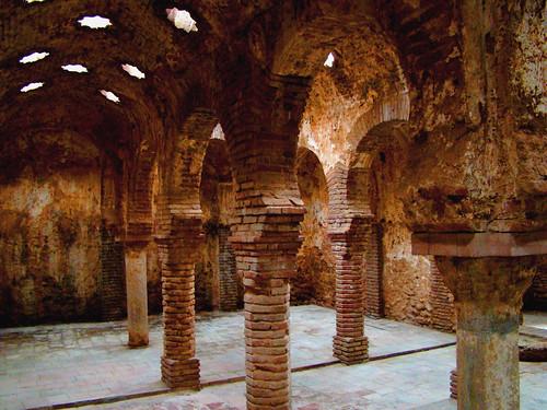 2009 Baños Arabes de Ronda (Málaga)  Este recinto termal ...