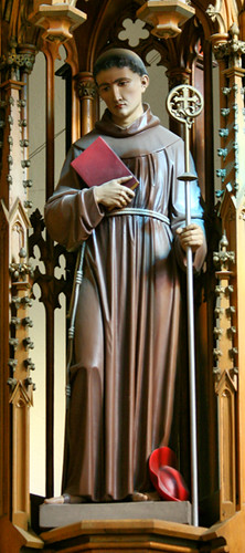 St. Bonaventure | I believe this is St. Bonaventure due to ...