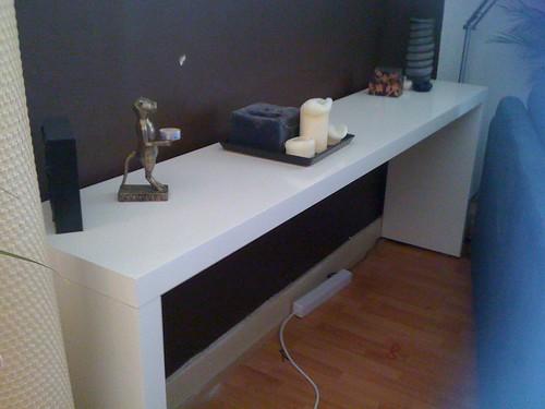ikea malm series bedside table robert and carlene flickr. Black Bedroom Furniture Sets. Home Design Ideas