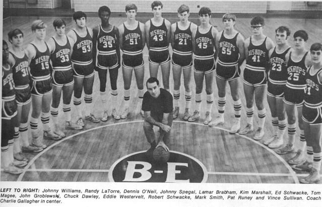 1970-1971 Varsity Boys Basketball Team | Bishop England ...