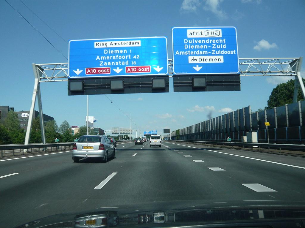 Dutch Road sign Sander Baumann
