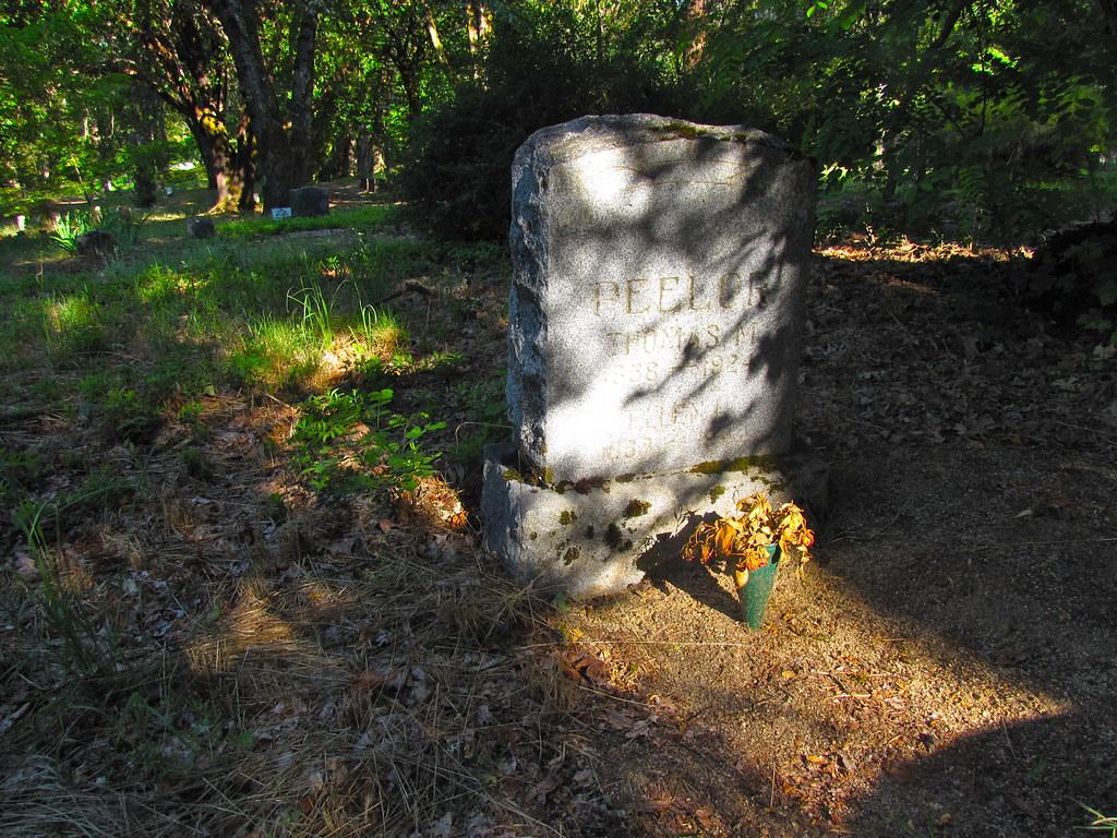 Granite Hill Cemetery Grants Pass Or Johan Mathiesen