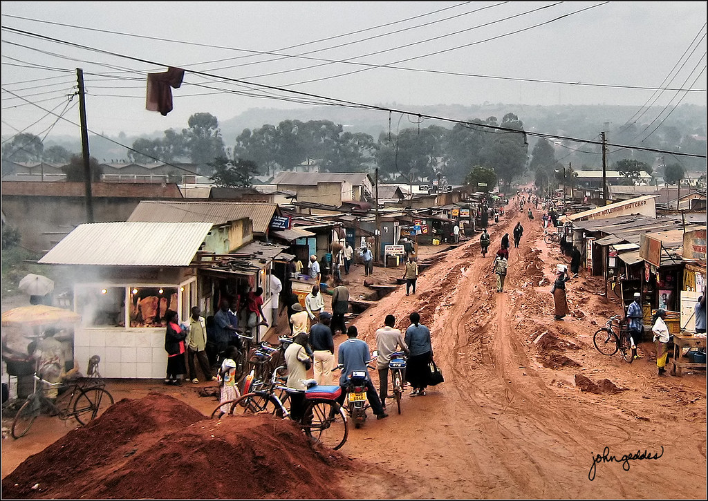 African Town Uganda Compare This Village To My