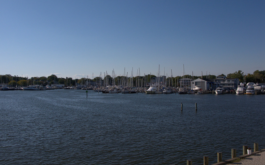 Annapolis Harbor From Annapolis Sailing School Md Flickr