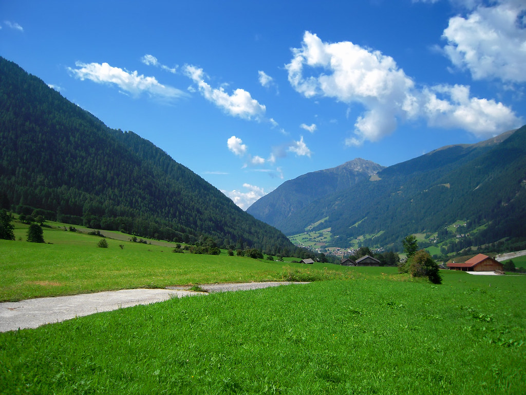 sfondo per desktop valle d 39 anterselva in alto adige